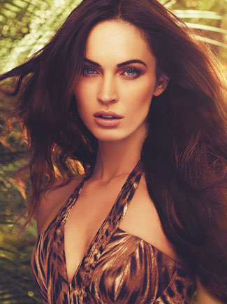 Megan Fox  for Avon's new Instinct fragrance
